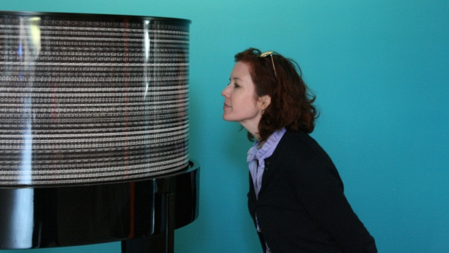 kathleen forde with the zoetrope