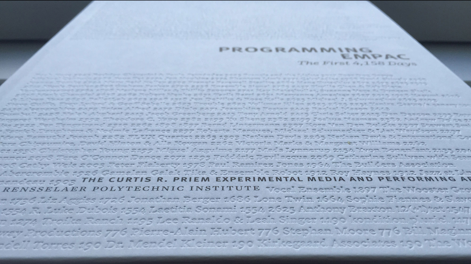 "a white book ""programming empac"""