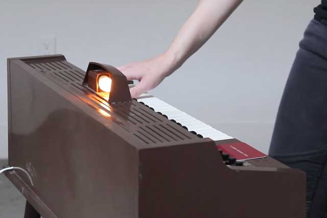 a toy piano