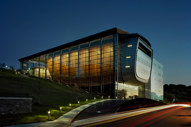 EMPAC's North facade.