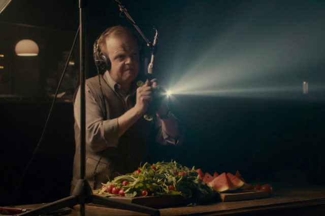 Film still from Berberian Sound Studio