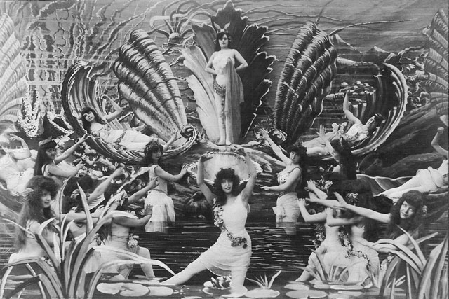film still of 20's-style fairies.