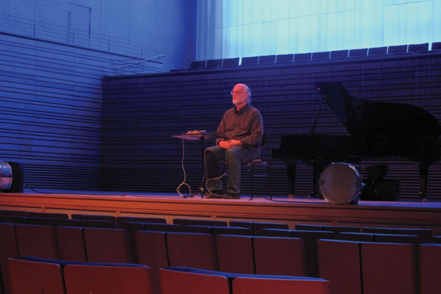 johannes goebel in the concert hall