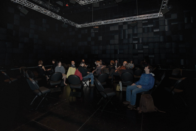 audience in studio 1