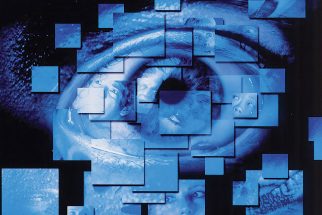 cube 2 movie poster of an eye