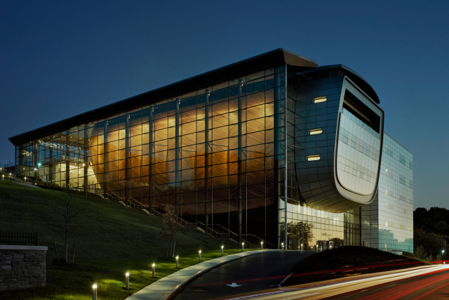 EMPAC north facade